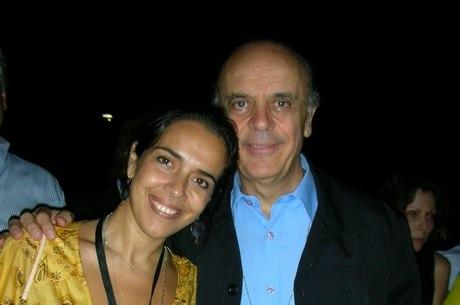Verônica e o pai, senador José Serra