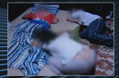 Fotos da cena do crime mostram como família foi encontrada