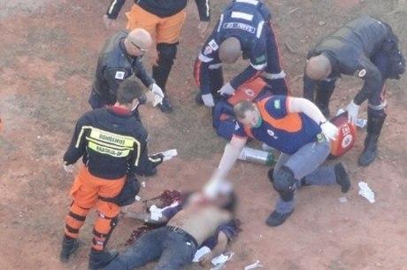 O ex-companheiro José Pereira Ramos que a atacou, morreu antes de chegar ao hospital