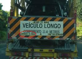 Divirta Se Com As Frases Engraçadas De Para Choque De Caminhão