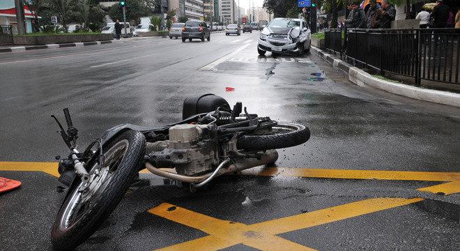 Os motociclistas são as principais vítimas fatais, segundo o Ministério da Saúde