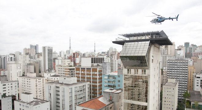 São Paulo é o Estado com a maior frota de helicópteros do País