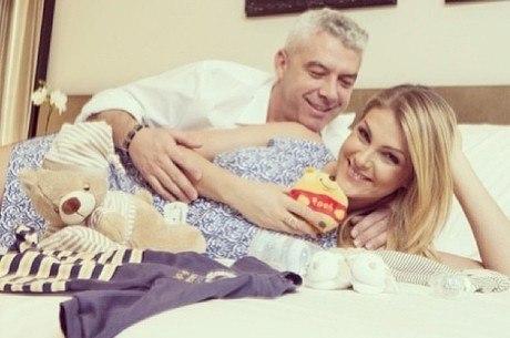 Ana Hickmann espera seu primeiro filho
