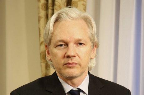 Julian Assange falou durante o seminário Liberdade, Privacidade e o Futuro da Internet