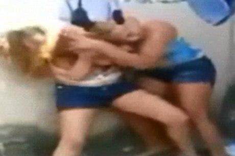 Briga aconteceu no quintal de casa