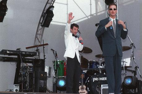 ET e Rodolfo ficaram famosos no final dos anos 1990