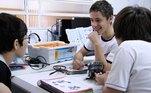 tecnologia, robótica,sala de aula, ensino, lego, lego education