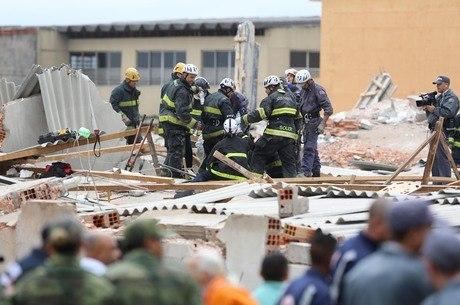 Desabamento deixou ao menos oito mortos