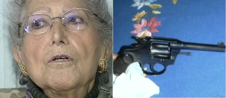 Idosa usou arma de família para matar ladrão em Caxias do Sul (RS)