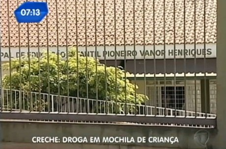 Criança de três anos carregava maconha na mochila no Paraná