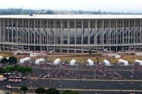 Estádio Nacional de Brasília vai receber sete jogos durante a Copa do Mundo