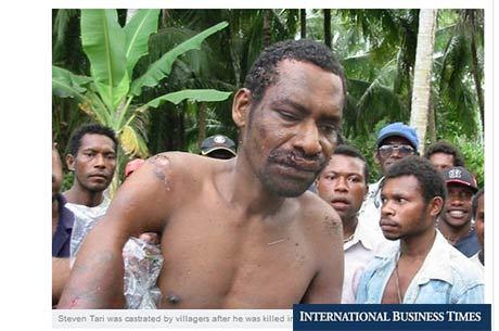 Segundo imprensa local, Tari foi caçado por quase 80 homens