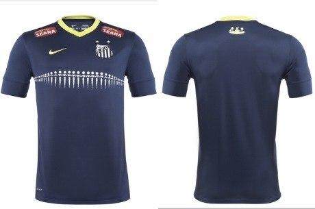bd157d79ff Santos lança camisa azul inspirada na orla do mar - Esportes - R7 ...