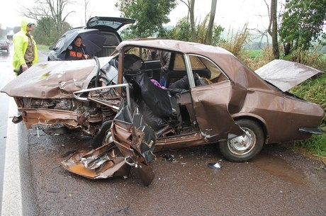 Duas pessoas morreram em acidente no RS