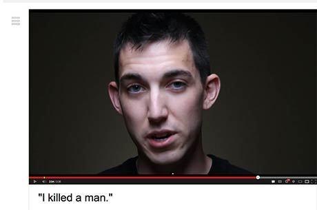 """Matthew Cordle gravou o vídeo """"Eu matei um homem"""" (tradução)"""