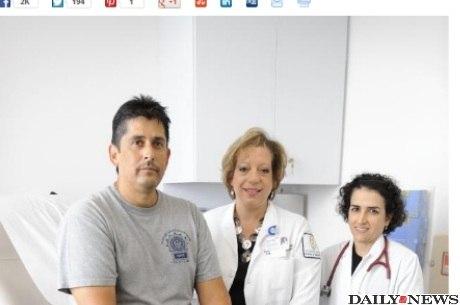 Amadeo Pulley foi diagnosticado com câncer de rim por conta das toxinas do Marco Zero, local dos ataques terroristas