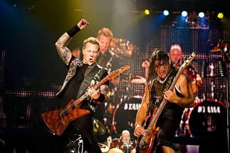 O Metallica fecha a quinta-feira (19) do Rock in Rio