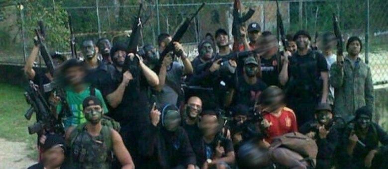 Foto de traficantes armados na Covanca motivou operação na comunidade onde o policial do Bope foi morto
