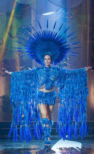 Miss Goiás com o Melhor Traje Típico