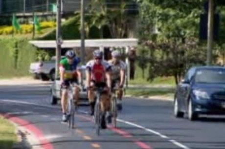 Faixa de mão dupla é considerada perigosa pelos ciclistas