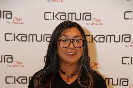 o cabeleireiro Celso Kamura