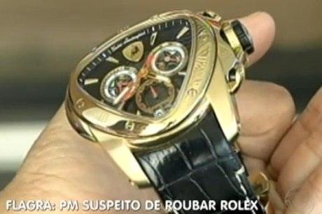 dbb3cb2ea8e PM é preso suspeito de roubar relógios de luxo no interior ...