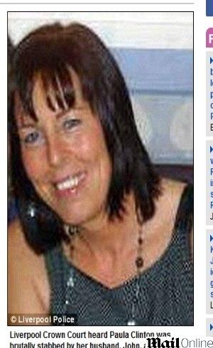 Paula vivia com John Clinton há 24 anos e já havia sido ameaçada outras vezes