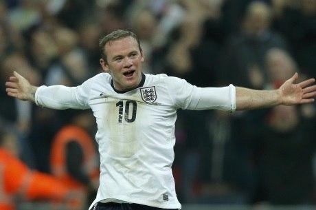Rooney foi jogador da seleção ingelsa