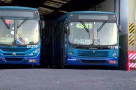 38 ônibus não saíram das garagens