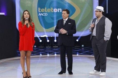 Família Abravael dividiu o palco do Teleton 2013