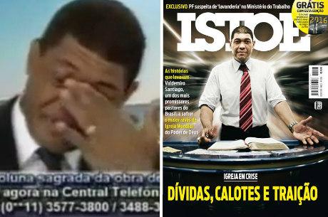 Na TV, Valdemiro pediu aos fiéis ajuda para arrecadar R$ 21 milhões