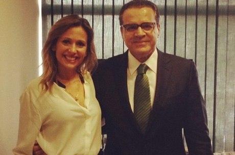 Luisa e o presidente da Câmara se encontraram nesta terça-feira