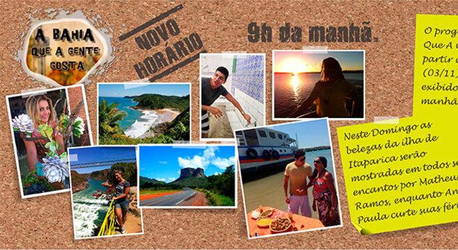 Programa mostra cultura, turismo, economia, sustentabilidade, esportes radicais e peculiaridades do Estado