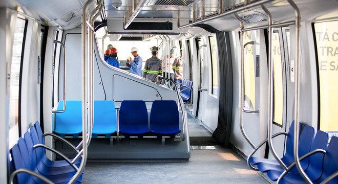 Em São Paulo, linha 15-Prata do Metrô fecha no feriado e no final de semana