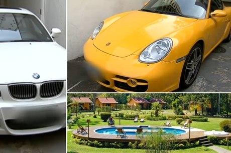 Fiscais compraram carros de luxo e pousada com dinheiro desviado