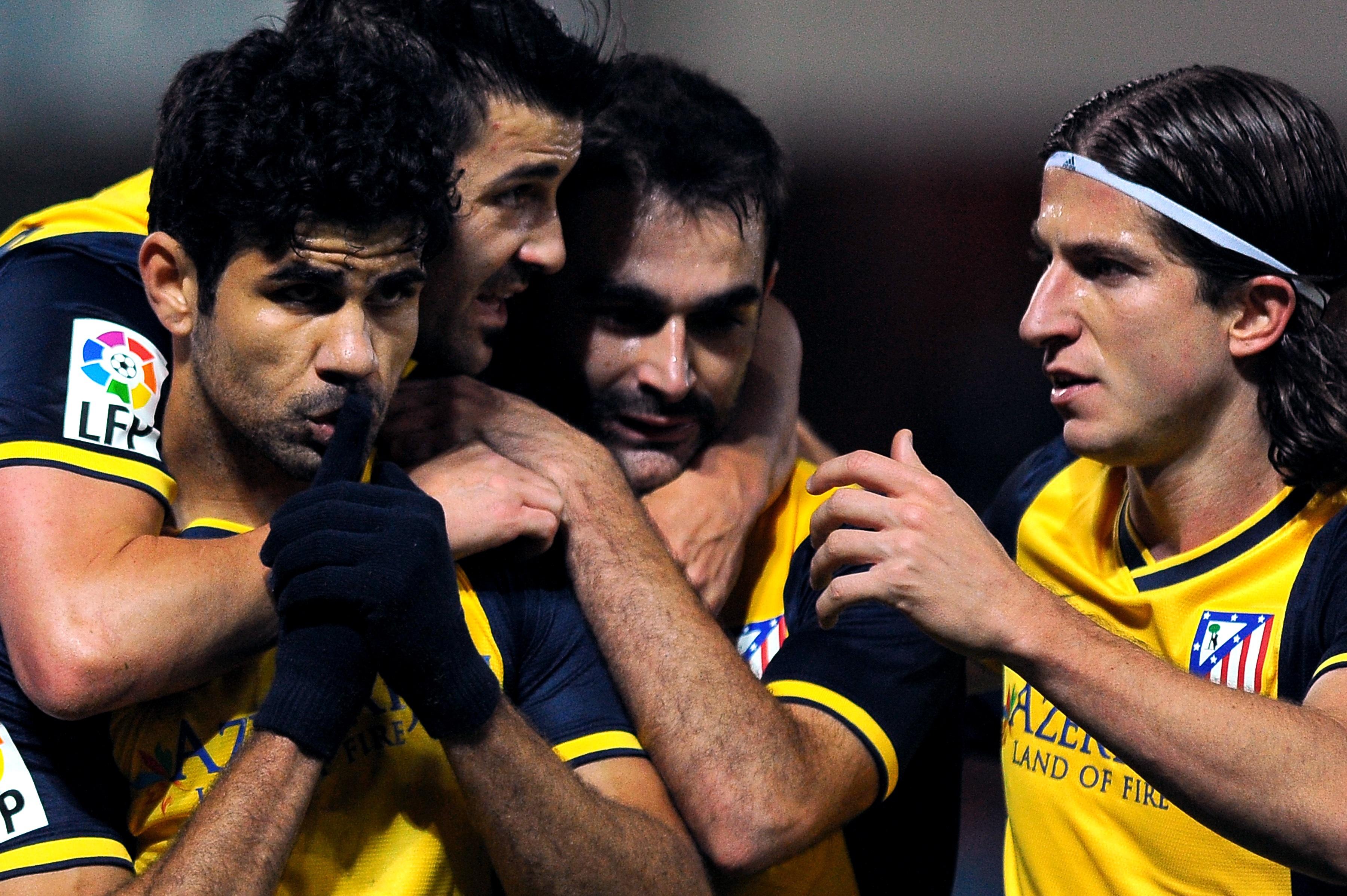 Diego Costa volta a marcar e Atlético de Madri encosta no Barcelona -  Esportes - R7 Futebol e4eb5820580f4