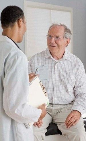 O câncer próstata é mais comum em homens com mais de 60 anos