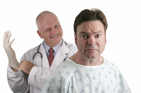 próstata estimulada