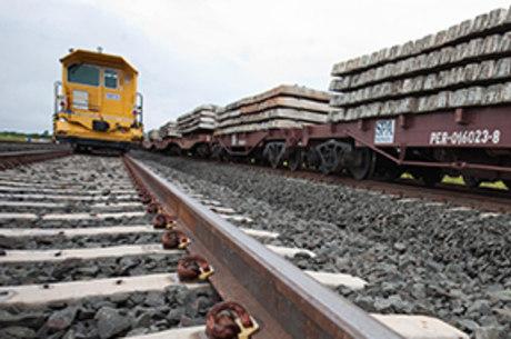 Entre os destaques das concessões estão os aportes em ferrovias