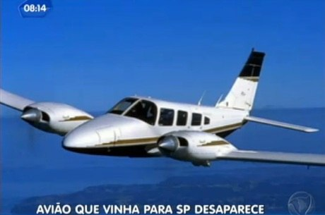 Aeronave desaparecida é um bimotor Sêneca, de prefixo PR-EAG