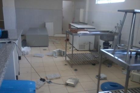 Instituto divulgou imagens da ação ocorrida nesta madrugada