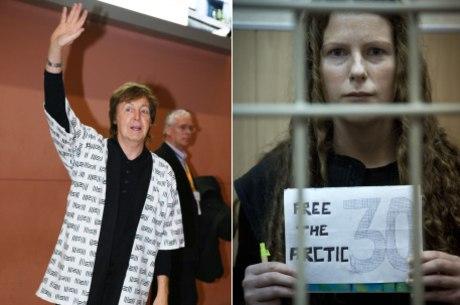 Paul pede para Putin utilizar sua influência para reunir os ativistas às suas famílias