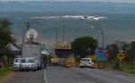 Brasília - Condenados da Ação Penal 470, trazidos pelo avião da Polícia Federal (PF), foram levados para o complexo penitenciário da Papuda, no Distrito Federal