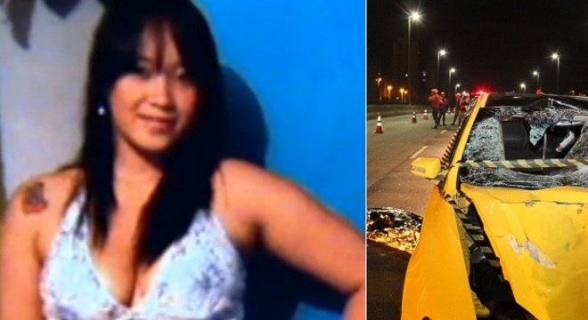 Jéssica foi arrastada por carro após ser atingida na faixa de pedestre de avenida da zona norte