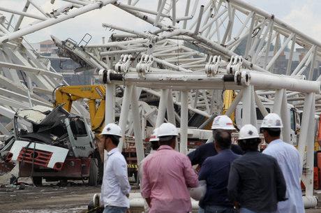 Após acidente, entrega do estádio pode ter atraso de até 60 dias