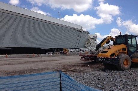 5% das obras da Arena Corinthians estão paralisadas para perícia