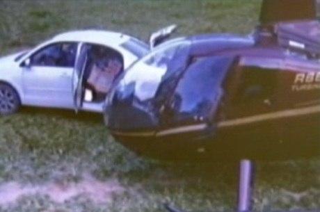 Piloto e outras três pessoas foram presas no domingo (24)