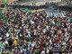 Em Fortaleza (CE), uma manifestação antes da partida Brasil e México durante a Copa das Confederações também terminou em confusão nos arredores da Arena Castelão, no dia 19. O protesto, convocado pelo Facebook, criticava os gastos para a Copa do Mundo
