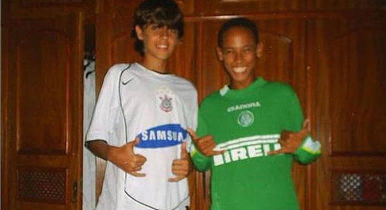Foto de Neymar com a camisa do Palmeiras vazou nas redes sociais