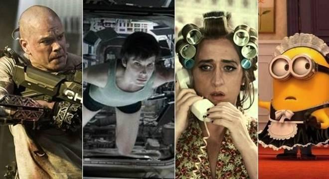 Houve produções de ação, suspense, comédia e até animação entre os destaques de 2013